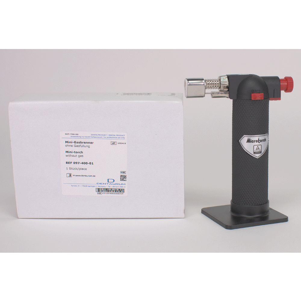 DENTAURUM: 097-400-01 - Micro-Torch mini-Gasbrenner St