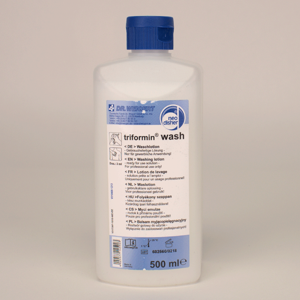 WEIGERT: 317363 - Neodisher triformin wash 500 ml Fl